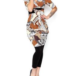 Örme elbise moda stili Tunik