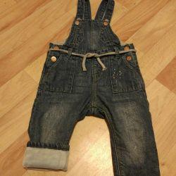 Overalls jeans warm Zara 74