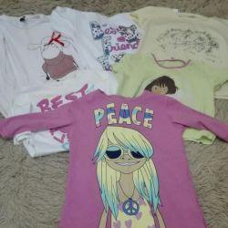 Продам футболки на девочку