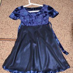 Σκούρο μπλε φόρεμα