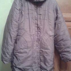 Зимнее пальто девочковое