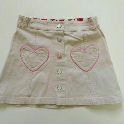 Denim skirt for girls. New