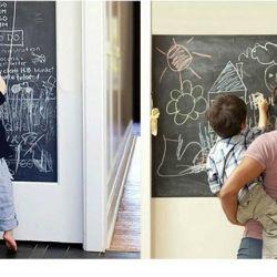 Мольберт доска стикер рисование мел планшет стены