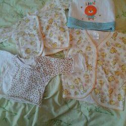 Вещи пакетом для малыша