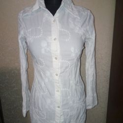 A white blouse