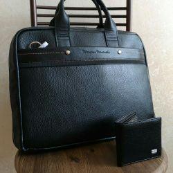 Мужская сумка. Натуральная кожа