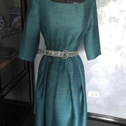 Dress 46 r, turquoise, USA