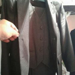 Three-piece suit for the school student