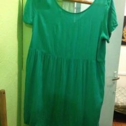 Платье бирюзовое фирма Tezenis р. 44-46