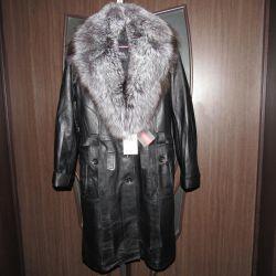 Пальто дубленка Зима Нат. кожа Турция 48