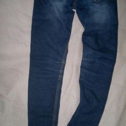 Kızlar için kot pantolon