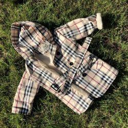 Children's raincoat for autumn