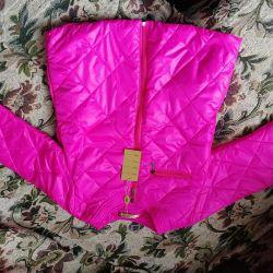 Новая куртка 44-48 р роз цвета