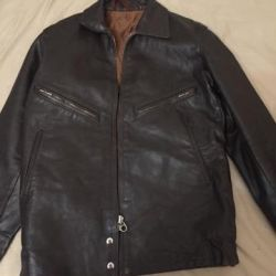 Leather jacket for flight personnel.