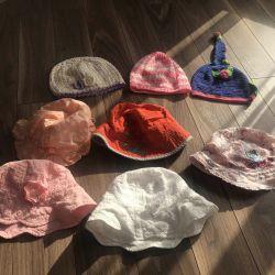 Панамки і шапочки пакетом