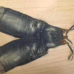 Новий джинсовий комбез, р.42