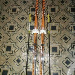 Лыжный комплект visu 150 см