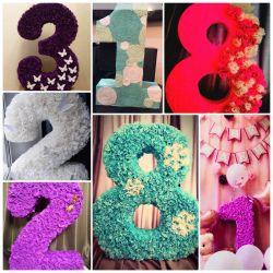 3B sayılar ve harfler