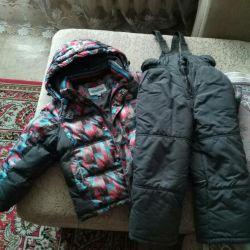 Winter suit for boy