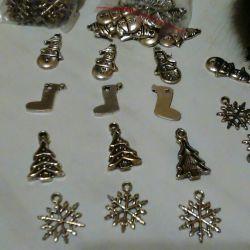 Χριστουγεννιάτικες γοητείες Πανδώρα