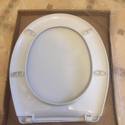 Toilet seat with cover, new
