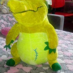 Noua jucărie moale Kroko)))