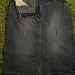 R.48-50 Jeans Skirt