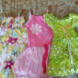 Dresses, sundresses for 3-5 years