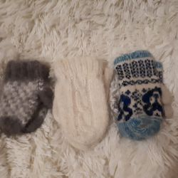 Down mittens are on sale