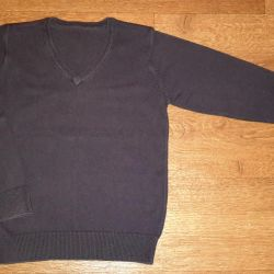 Dark blue - pullover by Marks & Spencer. 7-8 years