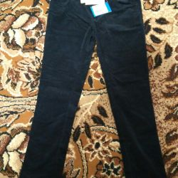 New pants for girls size 158.