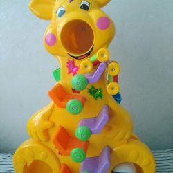 Interactive educational toy Funny giraffe