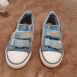 Denim Spor Ayakkabısı