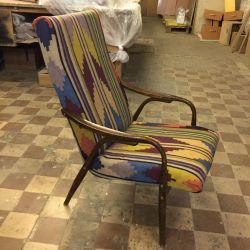Дизайнерское винтажное кресло. Восточное кресло.
