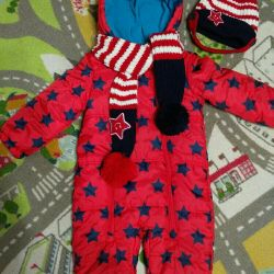 New Coverall size 98