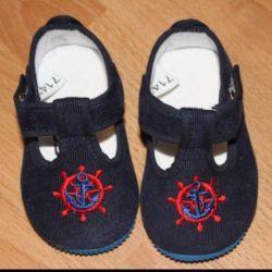 Pantofi noi de 11,5 cm