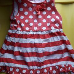 Summer dress for 6-12 months. Sela