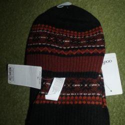 Комплект новый шапка и шарф Oodji