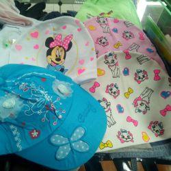 Children's cap for 2-5 years