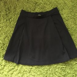 The skirt is new!