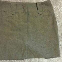 Skirt / consider exchange.