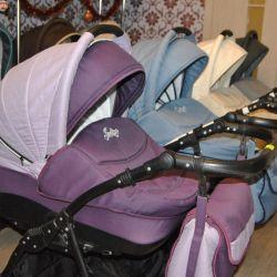 Παιδικά καροτσάκια 2in1 και 3in1 της εταιρείας Indigo