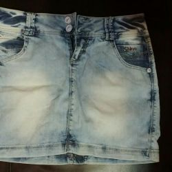 Jeans skirt 28 size??