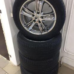 Wheels Kosei R18 + Nokian r18