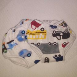 Bamboo panties Transport and Cars, plush.
