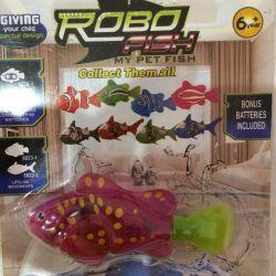 Robo Fish: Συγκομιδή