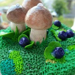 Jar for salted mushrooms