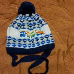 Winter children's hat