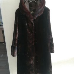 Mouton γούνα παλτό