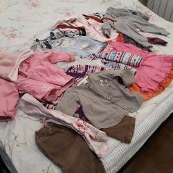 Пакет вещей на девочку 1-2 г